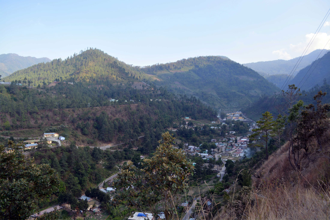 View of Singchung, Tenga Valley