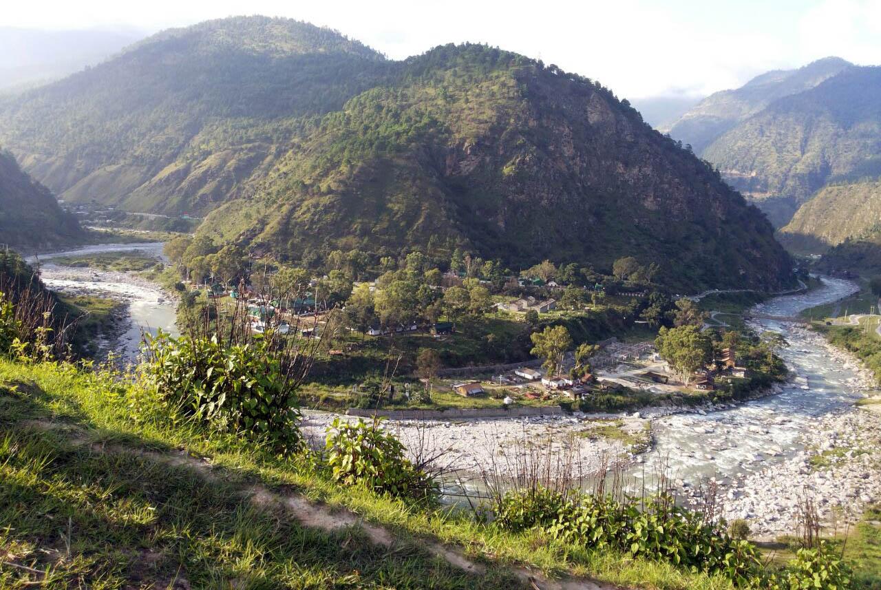 View of Tenga Valley